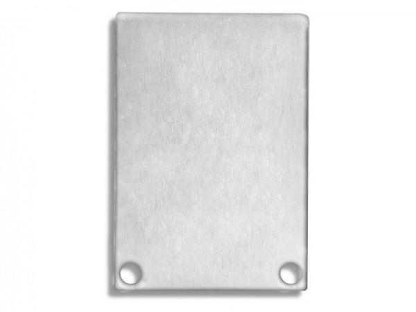 Endkappe (Paar) E48 Aluminium für Alu-Profil YN6/YN7 - C11