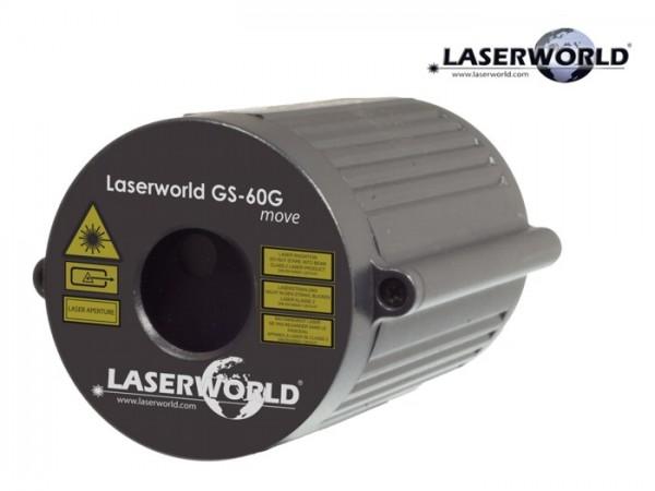 GS-60G move Gartenlaser grün 60mW animiert