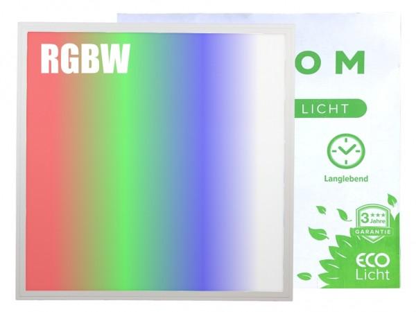 LED Panel 620x620 RGBW 24VDC ~3300lm 40W 50.000Std.