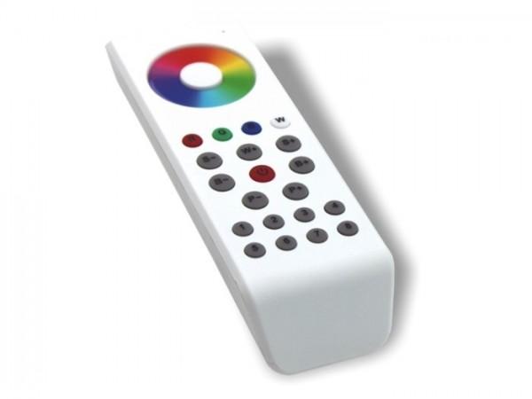 SR-1100 MKII LED Controller FB 8 Zonen RGBW Touchwheel Funk (868MHz) weiss