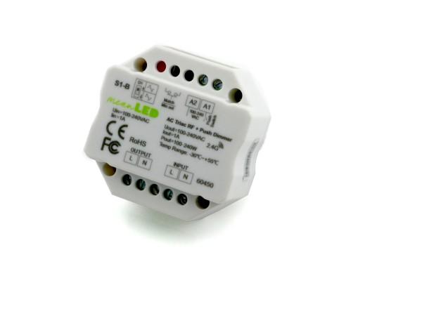 S1-B 1-Kanal Dimmer 230V 1A Push-DIM
