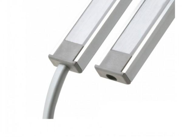 LED Profil *MICRO* Abschlusskappe mit Loch