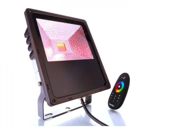 KP-RGB60 LED Fluter 60W IP65 inkl. Funkfernbedienung (RF)