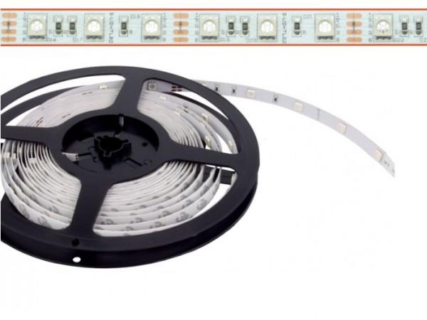 LED Flex Stripe 5m RGB 5050 SMD 60 LEDs/m 24V DC