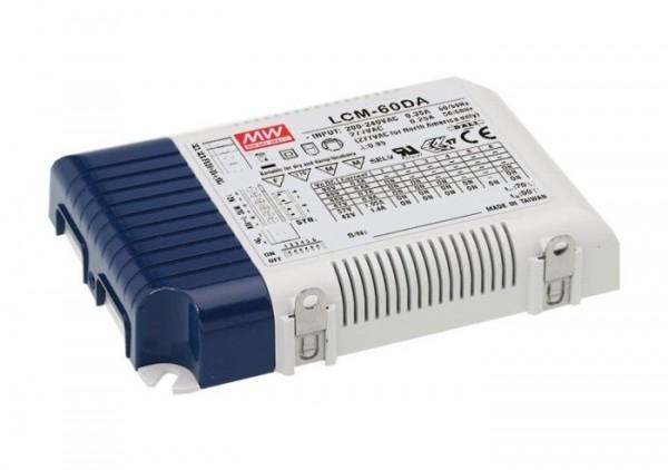 LCM-60DA dimmbares LED Netzteil Konstanstrom einstellbar DALI