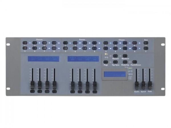 LED COMMANDER PRO DMX 66 Kanal RGBW 8 Geräte 16 Szenen
