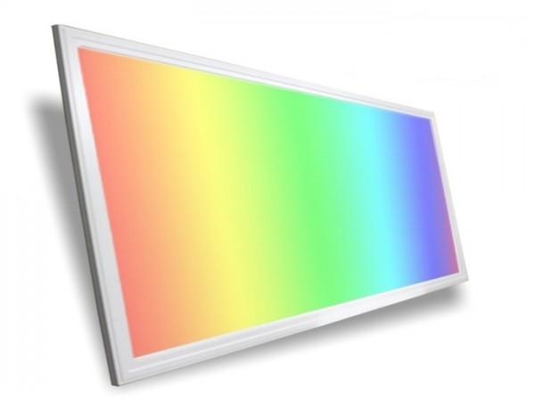 check out 9b360 e921a LED Panel 1200x600x9,5mm, RGB+CCT, 50W, 24VDC, inkl Netzteil
