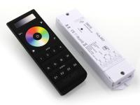 SR-1400 Set LED Controller FB RGBW Touchwheel (868MHz) schwarz inkl. SR-1009FA Empfänger