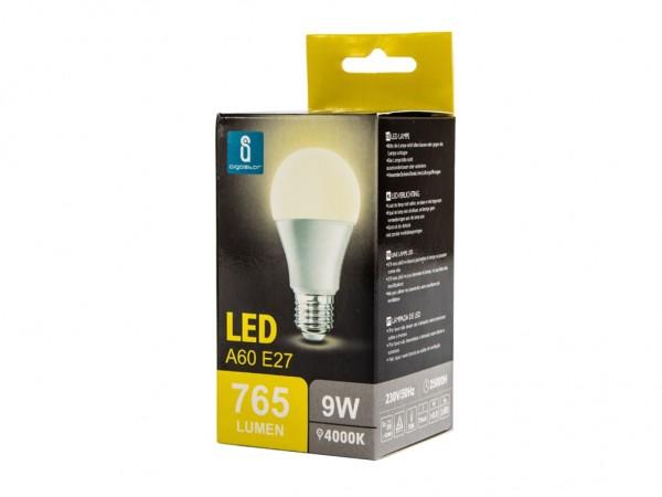 LED Leuchtmittel A60 9W E27 4000K neutralweiss