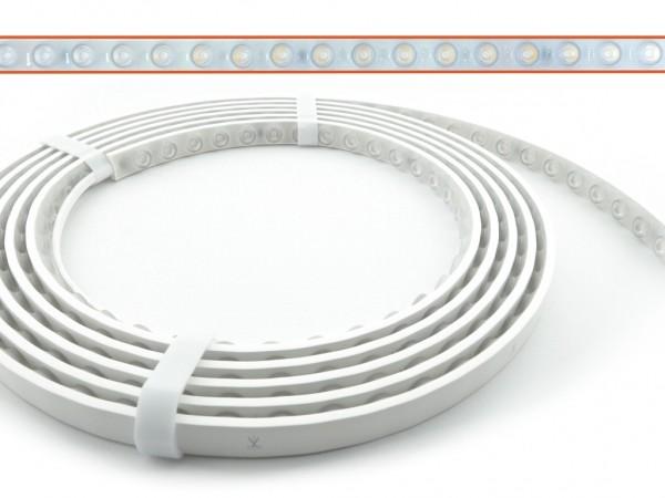 WSH48-3000 LED Lens-Stripe 3000K DC24V 1900lm/m 30° IP67
