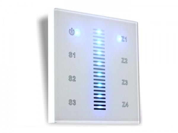 SR-2830AC RF LED Touchcontroller 1-Kanal 868MHz 4 Zonen