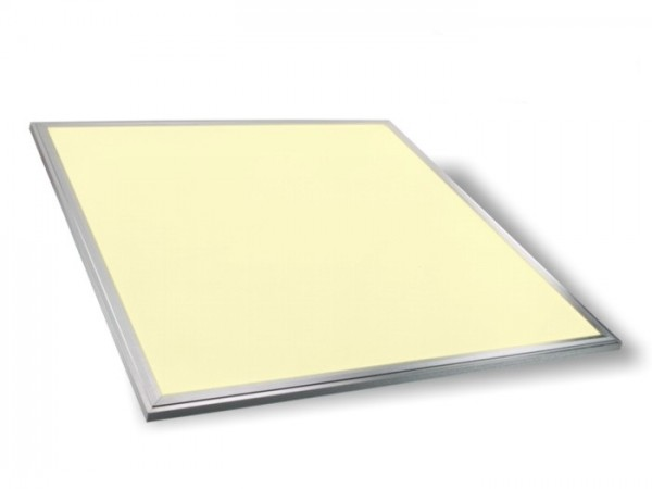 LED Panel 620x620x9,5mm, 3000K, 45W, 3900lm, CRI Ra>83, inkl Netzteil