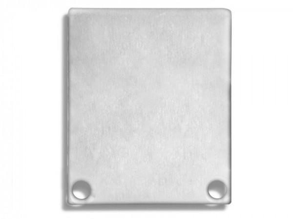 Endkappe (Paar) E44 Aluminium für Alu-Profil YN4/YN5 - C11