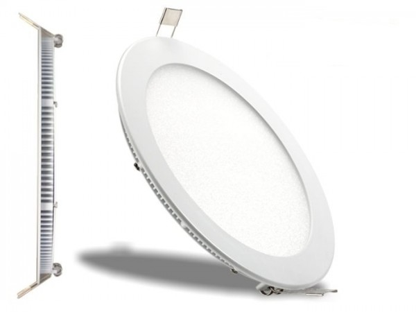 LED Panel Ø 300mm, 3000K, 24W, 1900lm, CRI Ra>83, inkl Netzteil