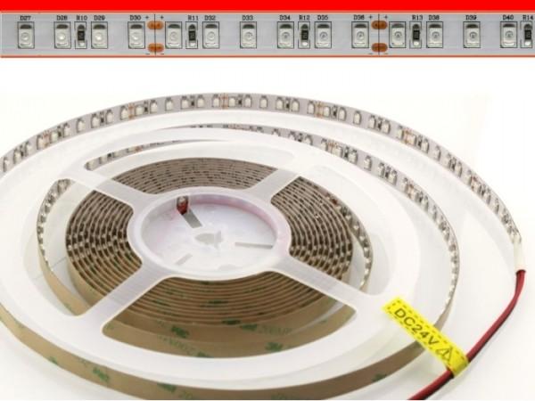 LED Flex Stripe 5m 3528 SMD 120LEDs/m 24V Rot