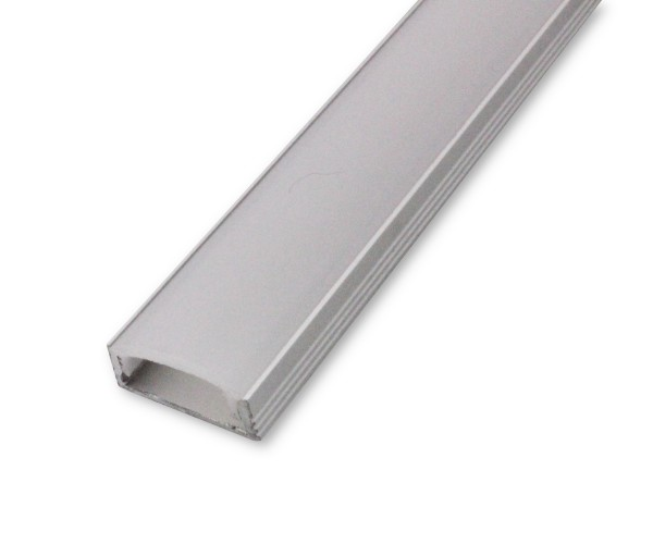 LED Alu-Profil AL-04AB 2m inkl. Blende Aufbauprofil
