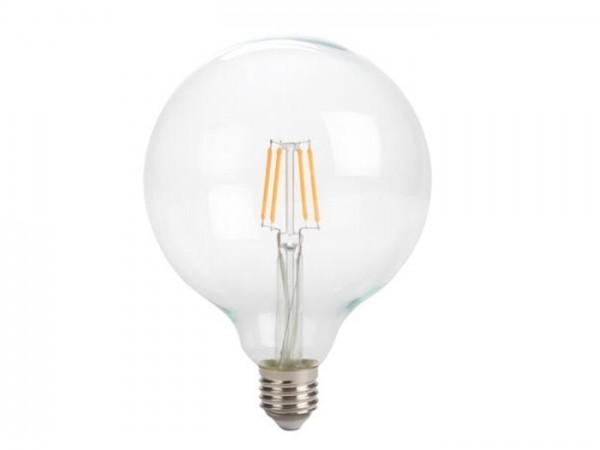LED Retro-Lampe T125 4W 2200K 230V E27 Kristalglas klar