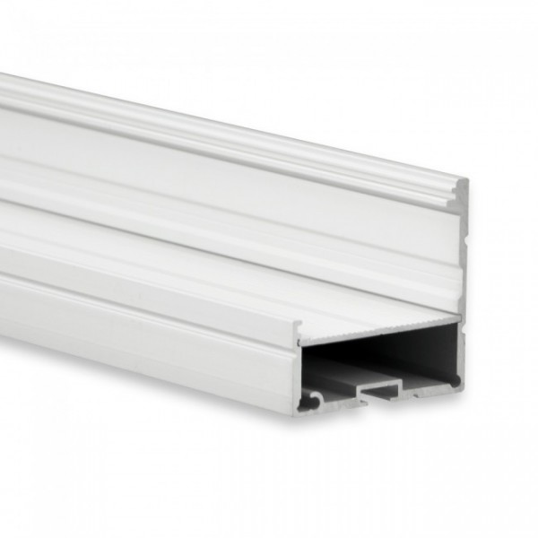 LED Alu-Profil YN18 (satiniert) ohne Blende 2m