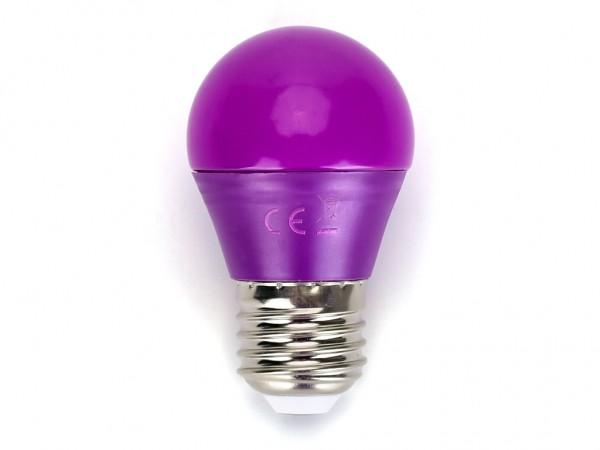 LED Leuchtmittel A5 G45 4W E27 Violett