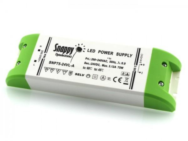SNP-75-24 LED Netzteil 24V 3,12A TÜV constant voltage