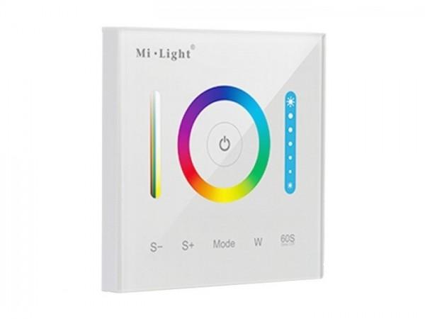 MI-P3 LED Wandcontroller 5-Kanal RGB+CCT PWM 5x5A 12-24VDC