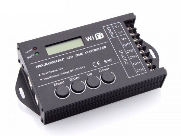 SR-TC421 LED WIFI Timer Controller 24h 5x4A
