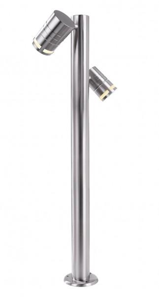 Stehleuchte Zilly II Silber