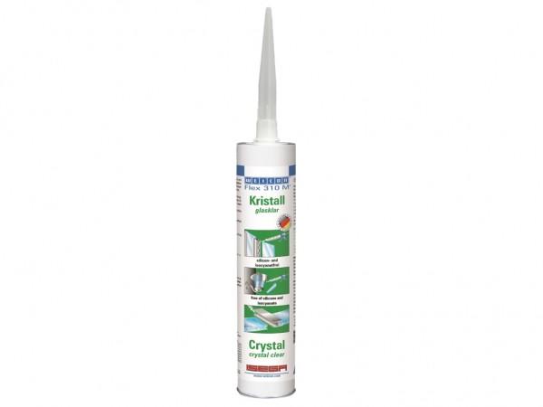 FLEX 310 M Kristall Montagekleber + Dichtstoff 310ml Kartusche