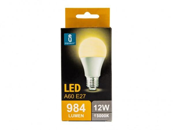 LED Leuchtmittel A60 12W E27 3000K warmweiss