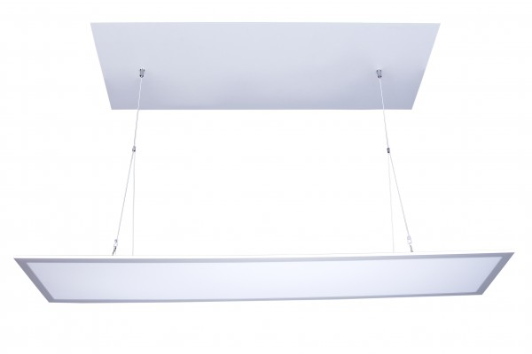 LED Panel Seilhalterung Y-förmig inkl. Montageset