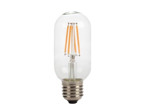 LED Retro-Lampe T45 4W 2200K 230V E27 Kristalglas klar