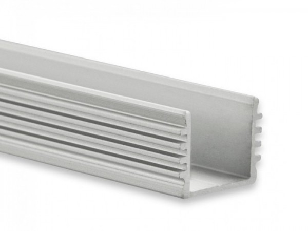 LED Alu-Profil YL5 (satiniert) ohne Blende 2m