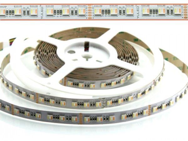 LED Flex Stripe 5m RGB+CCT XC5 84x 5-in-1 LEDs/m RGB+2700-6500K 24V DC