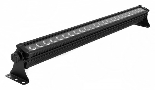 LED BAR 395 24x 3W MultiChip LEDs RGB 5 DMX Kanäle IP65