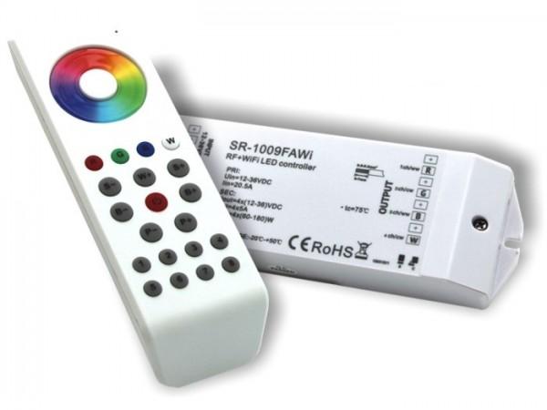 SR-1100WIFI-SET LED Controller Komplett-Set 4x5A inkl. SR1100MKII FB Weiss