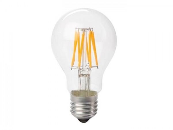 LED Retrofit Lampe 8W 2700K 230V E27 Kristalglas klar