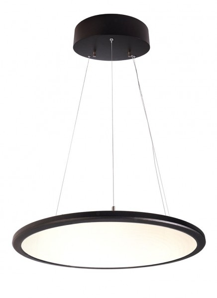 Pendelleuchte LED Panel transparent rund