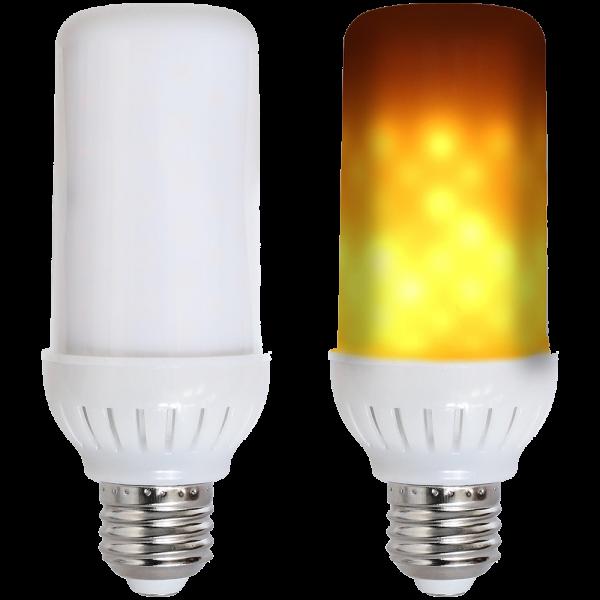 LED Lampe mit Flammeffekt 4W E27 1800K