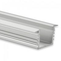 LED Alu-Profil YL3 (satiniert) ohne Blende 2m