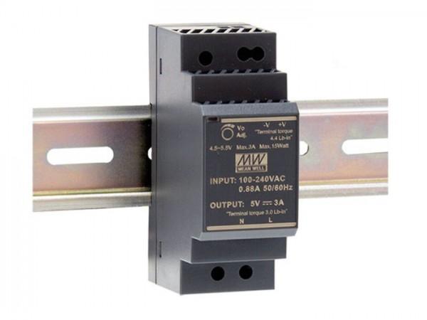HDR-30 Hutschienen Netzteil 30W / ultra-slim / CV / TÜV