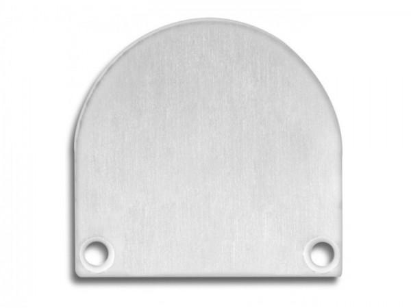 Endkappe (Paar) E46 Aluminium für Alu-Profil YN4/YN5 - C13