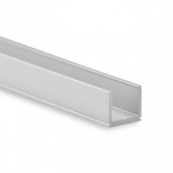 LED Alu-Profil YO18 (satiniert) ohne Blende 2m