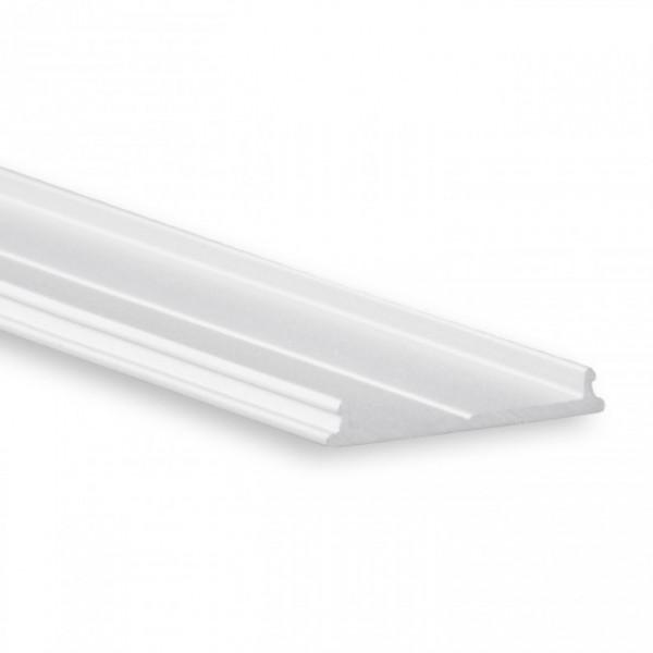LED Alu-Profil YO13 (satiniert) ohne Blende 2m