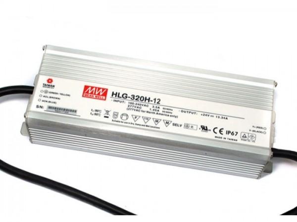 HLG-320H-12 Outdoor-Netzteil IP65 12V / 264W / TÜV
