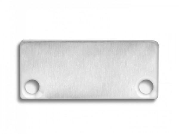 Endkappe (Paar) E43 Aluminium für Alu-Profil YN4/YN5 - C10