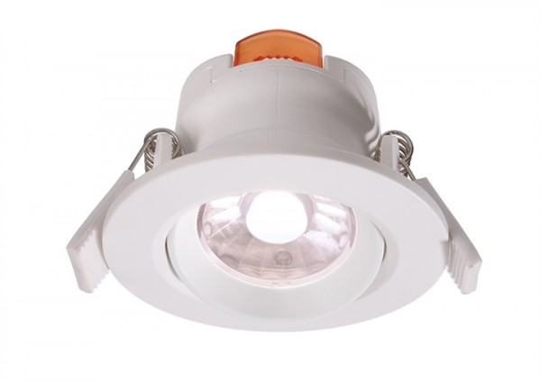 LED Downlight 6,5W 4000K 36° 230V dimmbar weiss