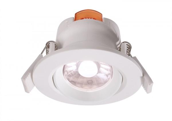 LED Downlight 6,5W 4000K 36° 230V dimmbar weiss
