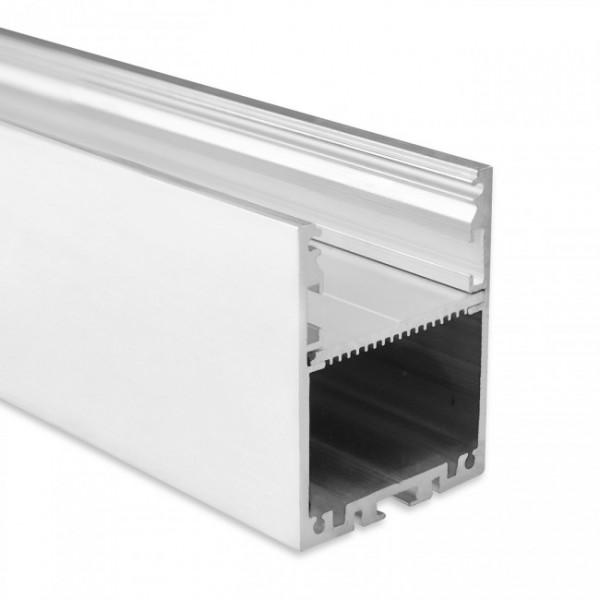 LED Alu-Profil YN17 (satiniert) ohne Blende 2m
