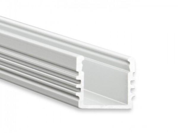 LED Alu-Profil YL2 (satiniert) ohne Blende