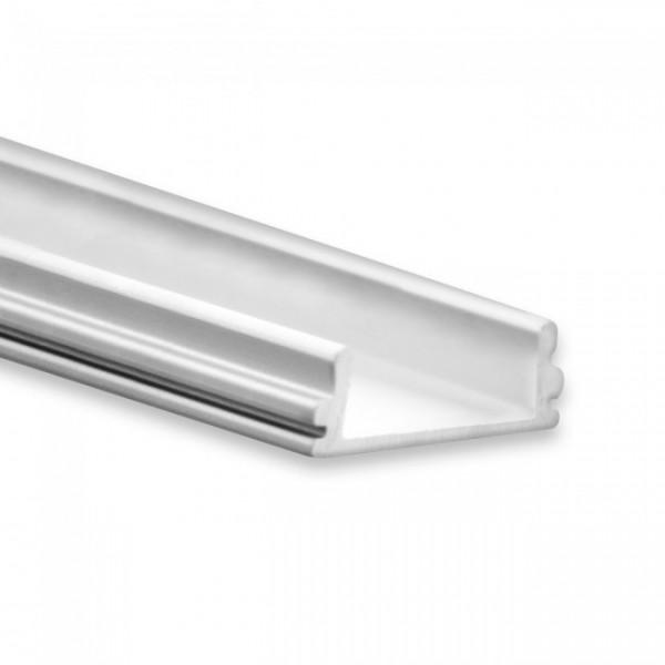 LED Alu-Profil YO15 (satiniert) ohne Blende